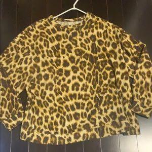 Zara super soft sweat shirt